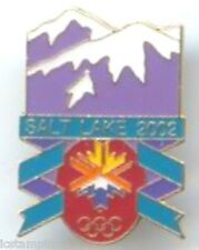 "2002 Olympic ""PURPLE MOUNTAINS"" Pin"