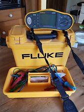 fluke 1652 multi tester rcd earth loop insulation multimeter meggar