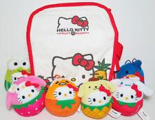 McDonald's Hello Kitty & Sanrio Characters Fruit Mart Dolls Set of 7