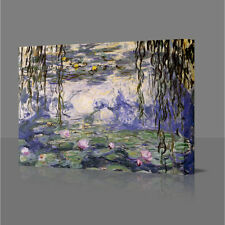 CLAUDE MONET Water Lilies 5 Large Canvas Art Picture Print Art A3