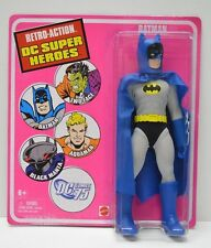 Batman Removeable Cowl DC RETRO ACTION 8in Action Figure Mattel 2010 NIP