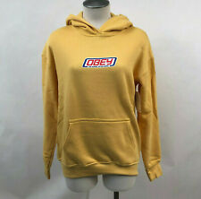 Obey Women's Hoodie Sweatshirt Foreign Candy Yellow Size S NWT Shepard Fairey