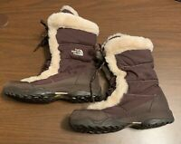 The North Face Winter Quilted Nylon Insulated Snow Boots 551044 Women's SZ 8 EUC