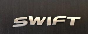 SUZUKI SWIFT REAR Letters Badge Logo Emblem (B47)