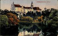 Sigmaringen AK ~1900 Schloss Palast color Ansichtskarte Baden-Württemberg