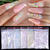 Nail Art Colorful Flakes Holographics Irregluar Nail Glitter Sequins Decoration