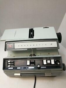 Vintage GAF Anscomatic R JN338 Slide Projector Film Projection With Hard Case