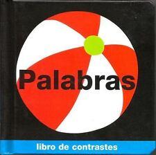 Libro de Contrastes: Palabras : Libro de Contrastes by Roger Priddy (Board Book)
