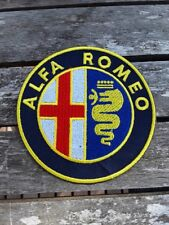 patch alpha roméo broder et thermocollant 10cm