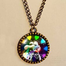 Undertale Necklace Art  Pendant Fashion Jewelry Game Gift Flowey Cosplay Undyne