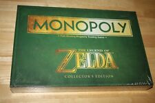 NEW Sealed ZELDA Monopoly Family Board Game COLLECTORS Edition w/6 Tokens
