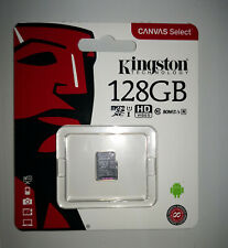 Tarjeta de memoria Micro SD SDHC Kingston 128GB Clase 10 microSD