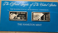 The Official Ingots of the United States, West Virginia and Nevada, Silver Bar