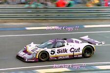 Lammers & Watson & Percy Silk Cut Jaguar XJR8-LM Le Mans 1987 Photograph 1
