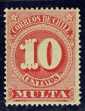 CHILE 1898 OFFICIAL STAMP # M 46 MNH MULTA POSTAGE DUE