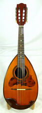 Japan Suzuki no.230 bowlback solid Spruce & Rosewood Mandolin, hard case, OJMN98