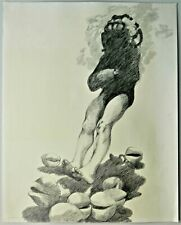 Mary McCarty 1968 Signed/Dated Large Graphite Drawing Art Institute of Chicago