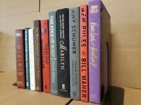 Lot of 10 Hardcover Modern-Chic-Shelf Decor Books Staging Prop Decor RANDOM MIX