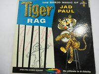 Jad Paul - The Banjo Magic of Tiger Rag 1959 LP Record Liberty LRP 3120