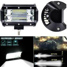 5''Inch 72W LED Arbeitslicht Bar Flood Fahrlampe für Jeep Truck Boat Offroad