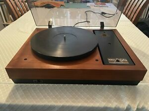Walker CJ 55 Belt Drive Turntable with Plinth and Dust Cover