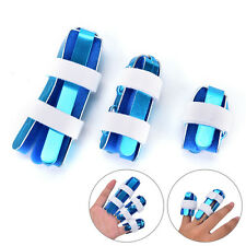 Finger Splint Joint Support Brace Arthritis Protection Fracture Treatment New