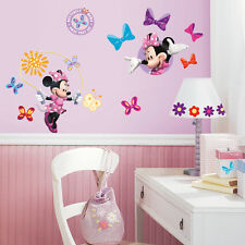 RoomMates Wall Stickers Disney Minnie Mouse Daisy Bow-tique Pink Bow Wall Decals