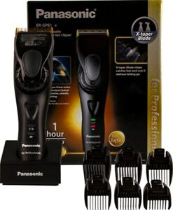 Panasonic ER-GP81 Professional Hair Clipper & 6 Combs. Rechargeable Dual Voltage