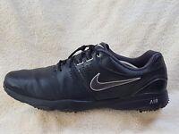 Nike Air mens Golf shoes Black/White UK 12 EU 47.5