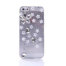 Handmade Bling Clear Crystal Diamonds Soft TPU back thin Phone Case Cover Skin C