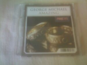 GEORGE MICHAEL - AMAZING - 3 INCH CD SINGLE