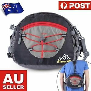 Water Resistant Waist Bag Backpack for Running Hiking Cycling Camping Traveling