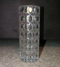 Bavaria Germany Bleikristall Vase, 19 cm hoch, Rarität 70er 80er Jahre, Neu