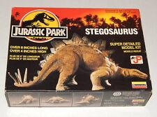 Lindberg Jurassic Park JP Stegosaurus Model Comlete in Open Box