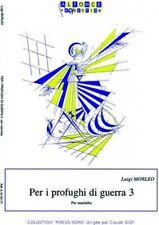Per i profughi di guerra 3 : Per marimba (Collection Percus-sons)