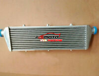 550x180x50mm Aluminum Turbo Intercooler 2.25'' 57mm inlet/outlet Tube&Fin Design