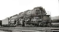 C&O Chesapeake & Ohio Steam Locomotive 1608 Railroad train photo 2-6-6-6