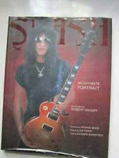 SLASH an intimate portrait book signed by the author (?)
