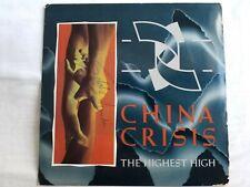 "China Crisis - The Highest High 7"" Vinyl Single"