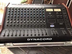 dynacord ES1260 Powermixer mit Boxen C8 41S