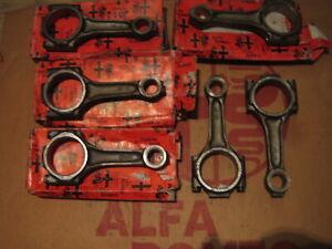 New,Alfa,V6,GTV,6/75/SZ/916,Spider/2.5/3,Engine,6x, Crankshaft,Con rods/60523279