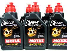 6 litros MOTUL GEAR 75w140 Competencia 75w-140 ACEITE Carreras - motor deporte