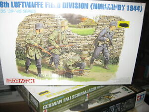 MIB 16th Luftwaffe Field Division (Normandy 1944) in 1/35 scale by Dragon -1998