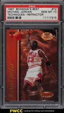1997 Bowman's Best Techniques Refractor Michael Jordan #T2 PSA 10 GEM MT (PWCC)