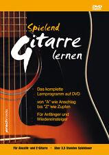 Spielend Gitarre Lernen (DVD, Laufzeit: 213 Min.)