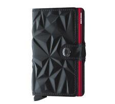 Secrid Miniwallet Prism Black Red Leder