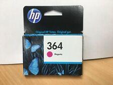 original HP Tintenpatrone HP 364 Magenta Rot CB319EE 2016 OVP mit Rechnung