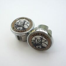 Vintage Style, Dawes Hand Built in England, Chrome Racing Bar Plugs, Caps, Repro