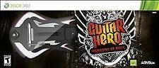 Guitar Hero: Warriors of Rock Guitar Bundle (Microsoft Xbox 360, 2010)