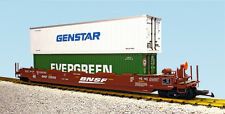 USA Trains G Scale 17139 BNSF INTERMODAL CONTAINER CARS w/Containers